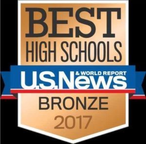 Image - Best High Schools US News Bronze 2017