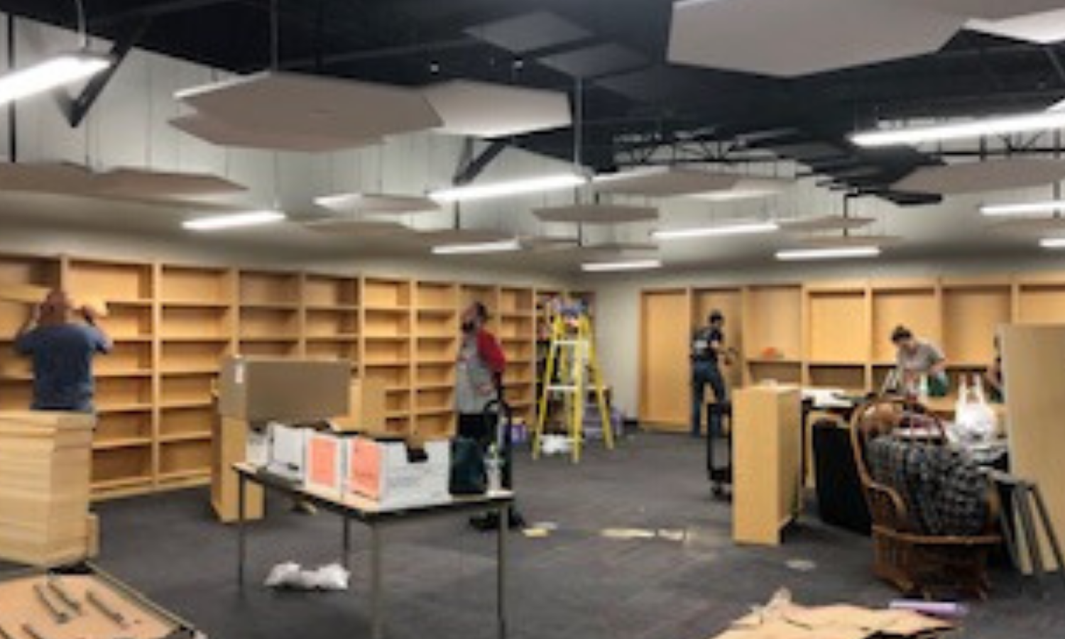 Image - library move in