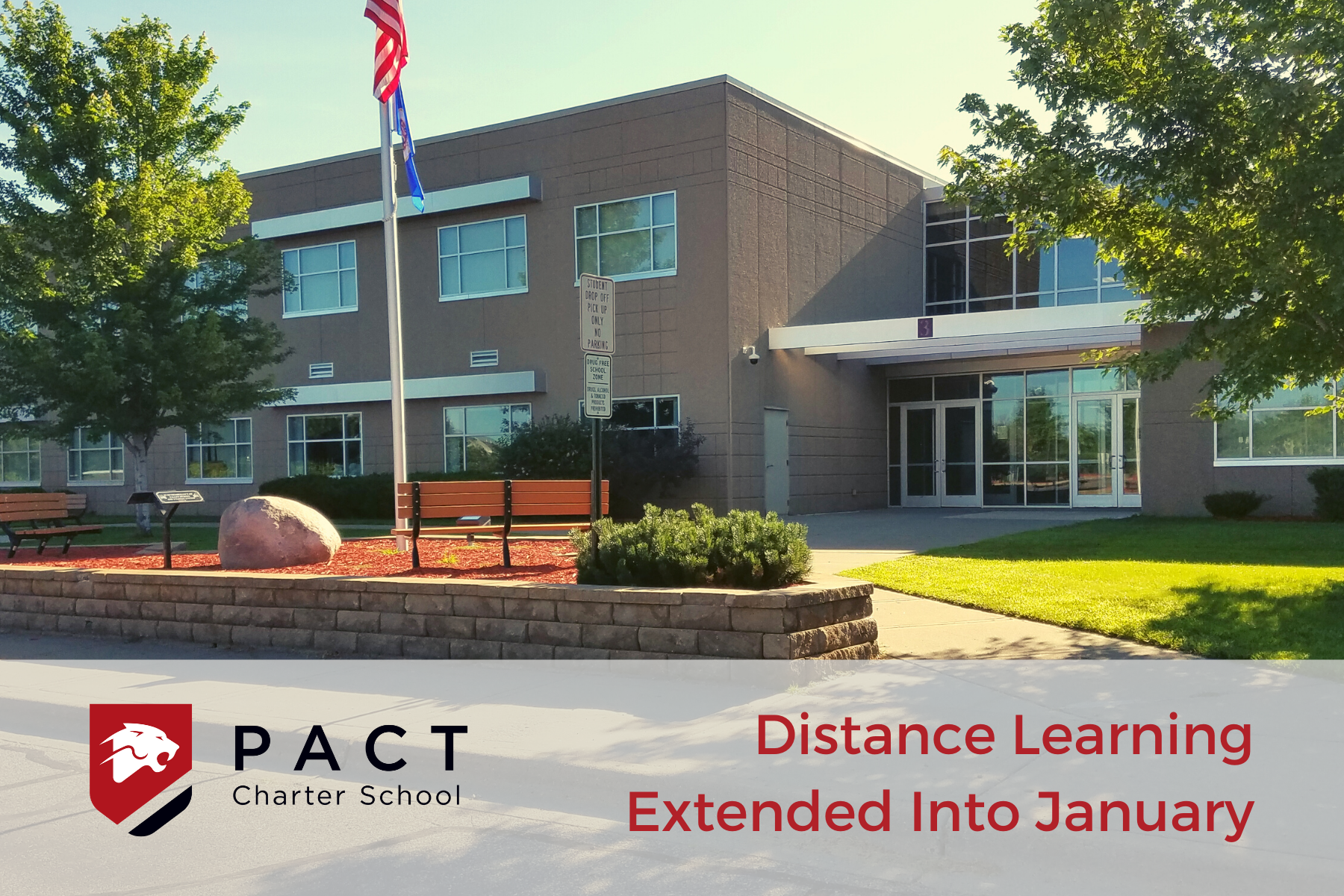 Distance Learning Extended Into January