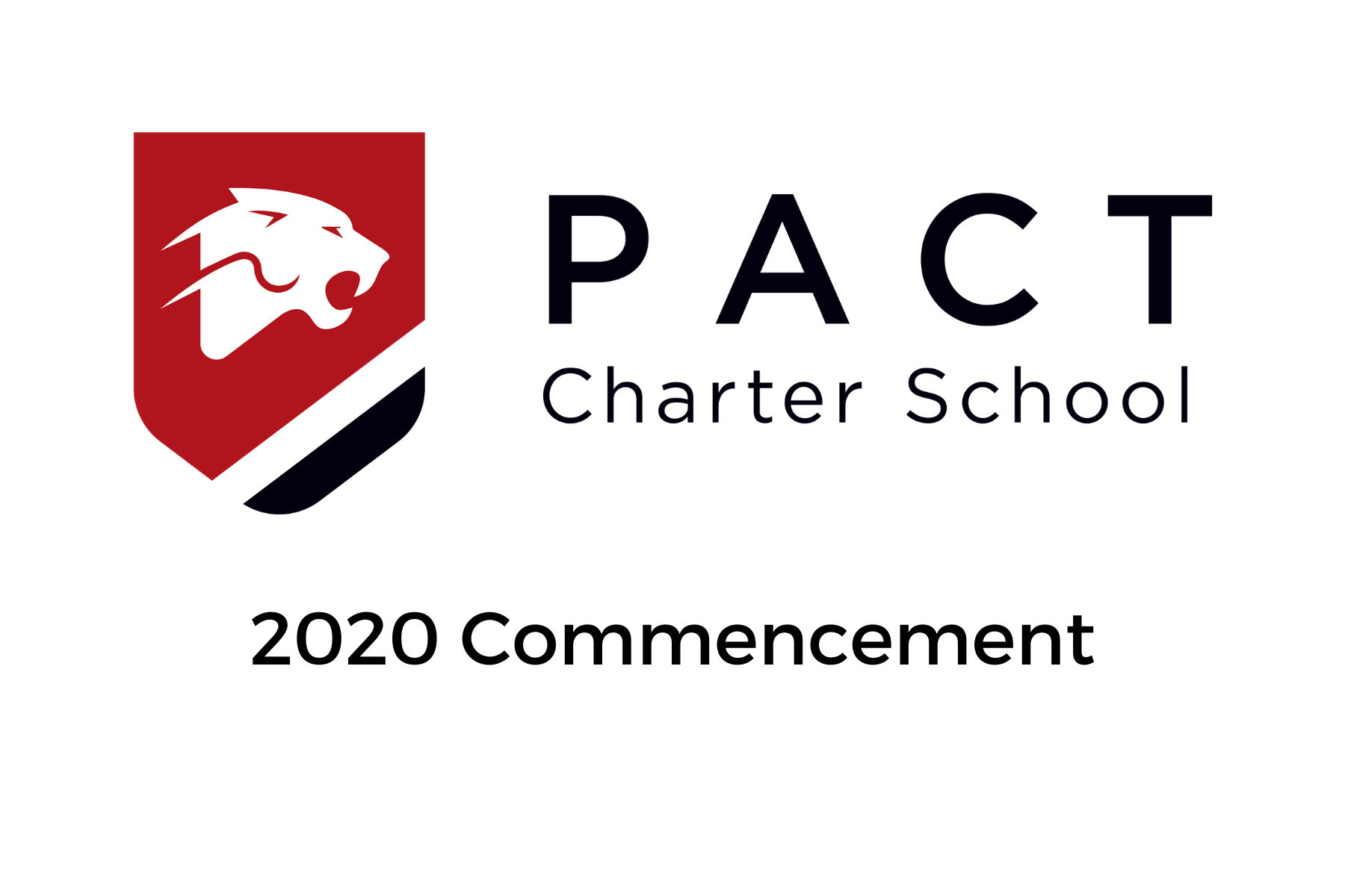 PACT Logo: Commencement 2020