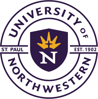 University of Northwestern St Paul Logo
